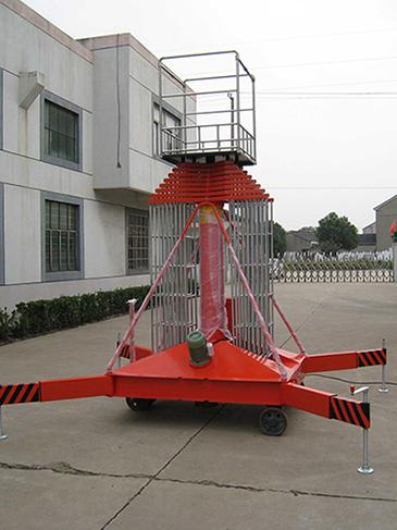 18米套缸式升降台-2