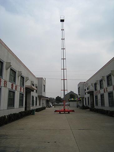 18米套缸式升降机