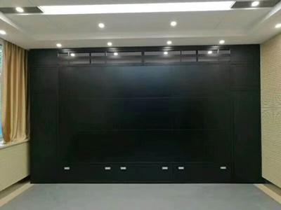 电视墙施工