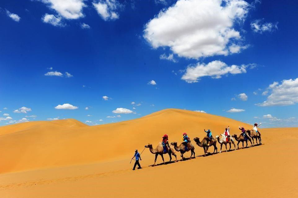 库布齐沙漠一日游