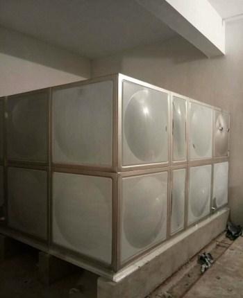 方型双层不锈钢保温水箱