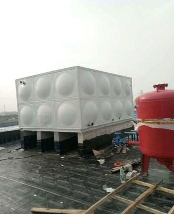 方型双层彩钢板保温水箱