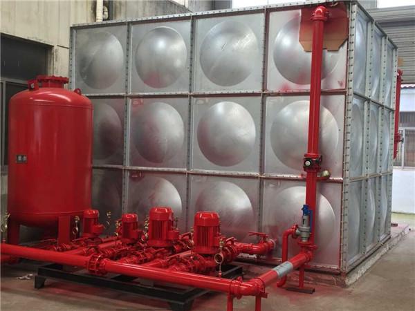 武汉箱泵一体化水箱制作