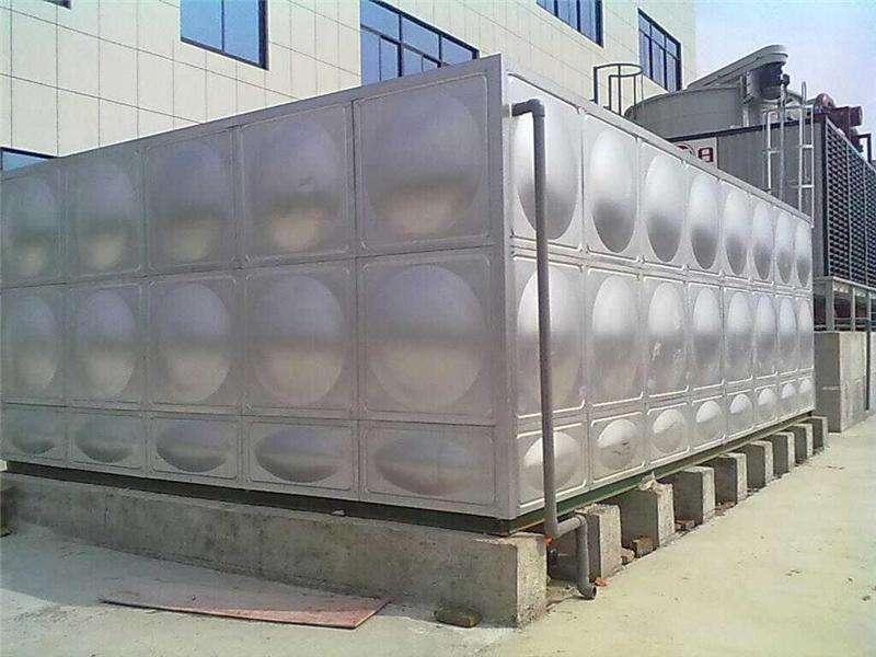 湖北方型不锈钢水箱定做