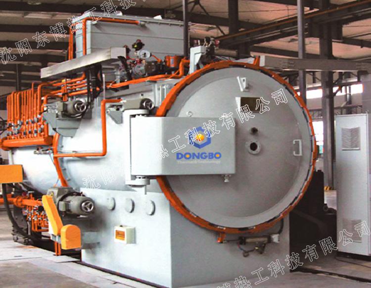 卧式双室油淬型低压真空渗碳炉
