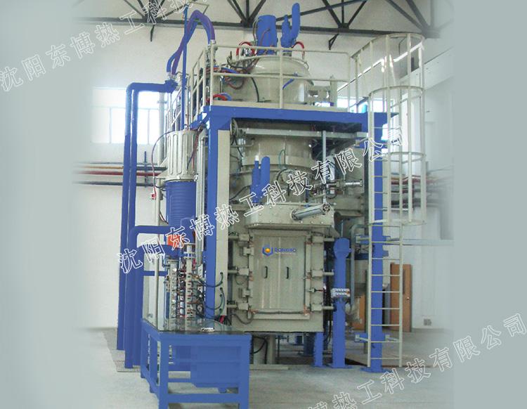 立式双室油淬型低压真空渗碳炉