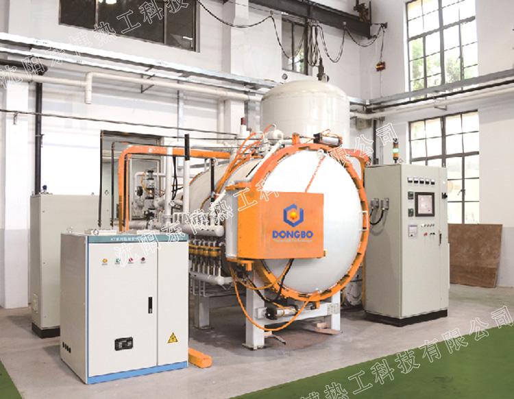 卧式单室气淬型低压真空渗碳炉