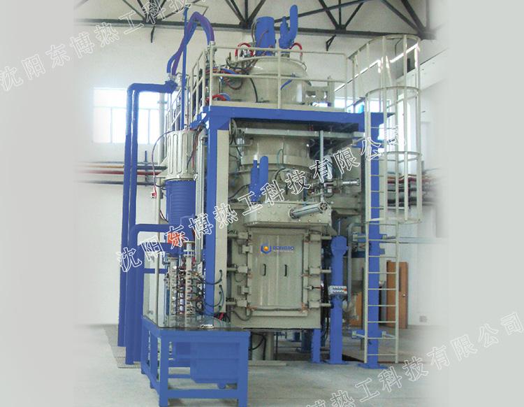 立式双室盐浴型低压真空渗碳炉