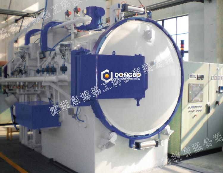 卧式双室油淬型高压气体氮化多功能真空炉