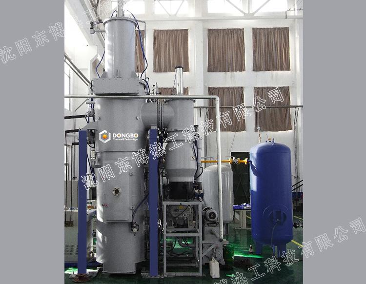 立式双室水淬型真空淬火炉