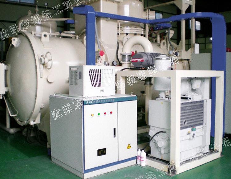 卧式双室气冷型真空氢气炉