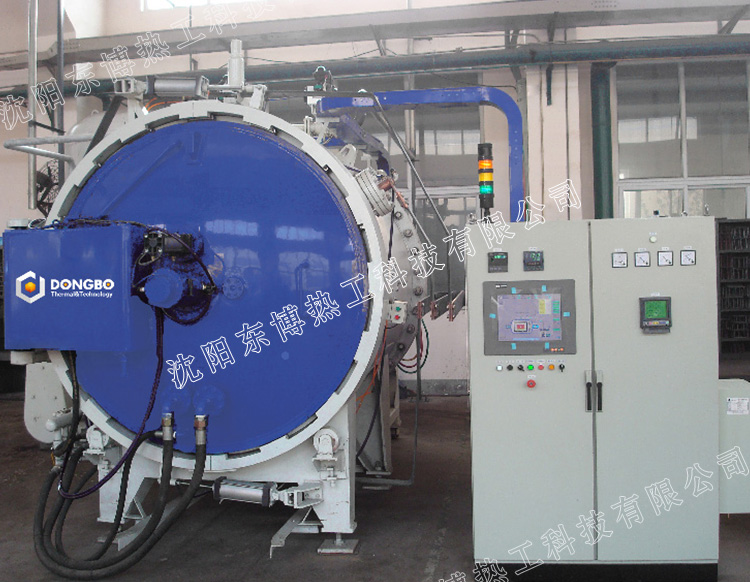 卧式单室气冷型真空氢气炉