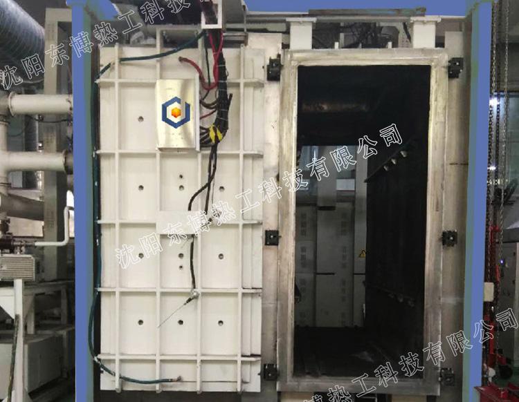 卧式单室铝钎焊矩形型真空钎焊炉