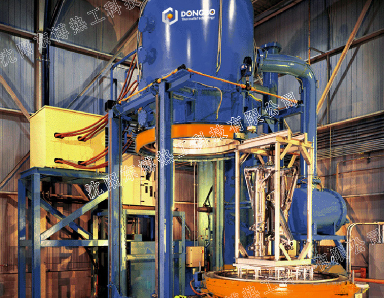 立式单室高温钎焊型真空钎焊炉