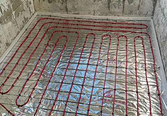 地暖安装施工
