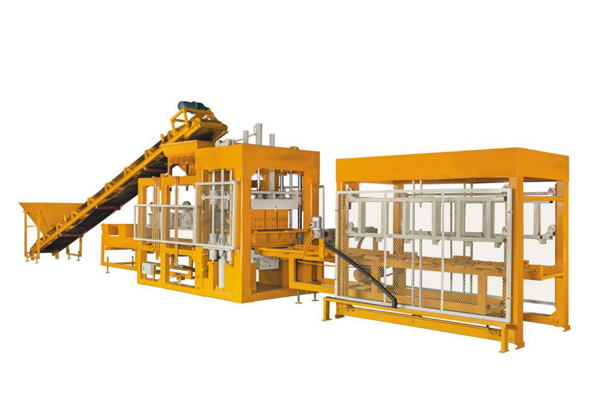 全自動水泥砌塊機 QT9-15