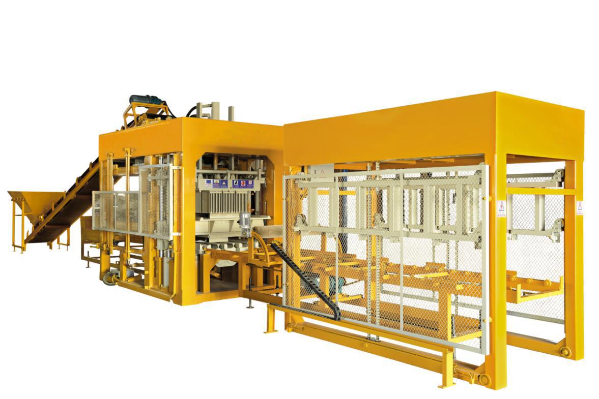全自动砖机 QT10-15