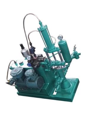 单缸液压柱塞泵