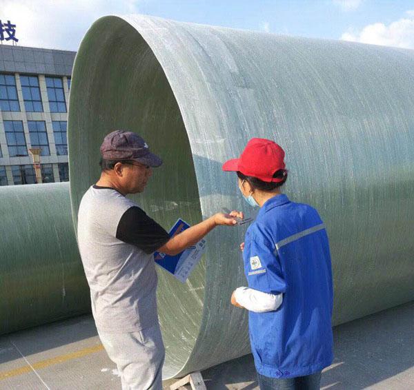 玻璃钢排水管道