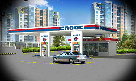 中国海油加油站建设