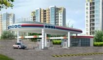 加油站网架结构