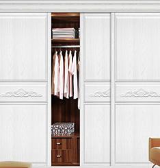 实木衣柜门
