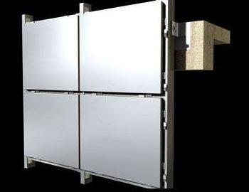 开缝式铝单板