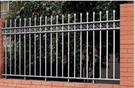 重庆彩色不锈钢大门栏杆