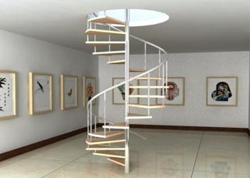 重庆金属旋转楼梯