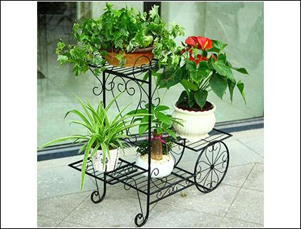 铁艺景观花盆