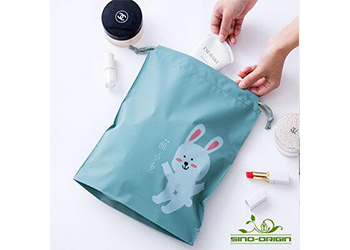 Kid drawstring pouch