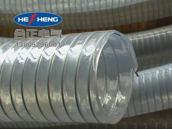 钢绕编织PVC透明软管