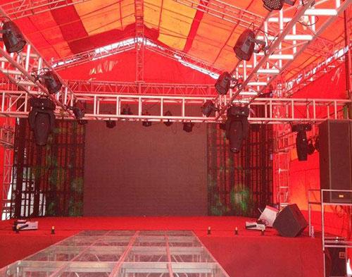 庆典舞台搭建