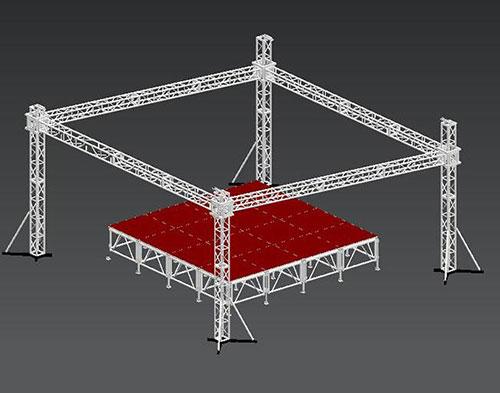 六盘水舞台桁架