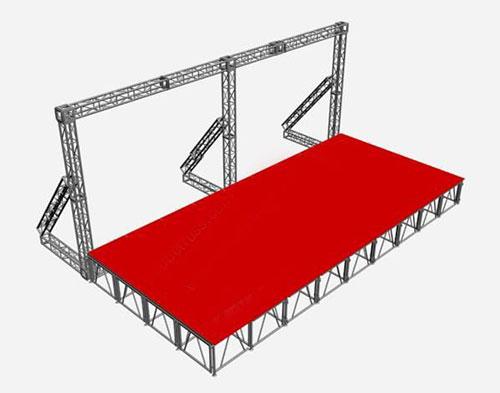 铜仁水舞台桁架
