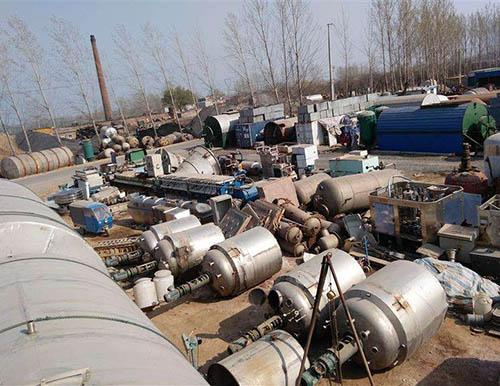 贵阳化工设备回收