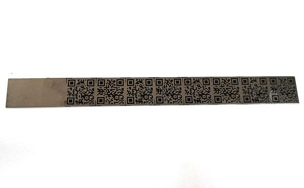 二维码标牌腐蚀加工