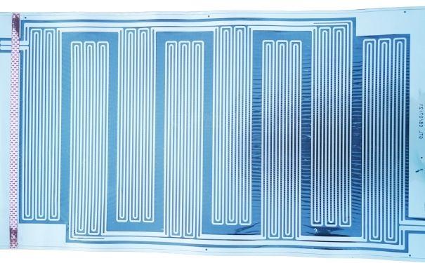 汽車動力電池發熱膜蝕刻