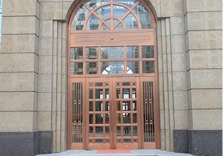 沈阳别墅铜门
