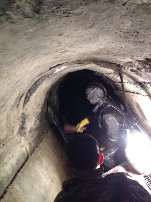 地下涵洞堵漏