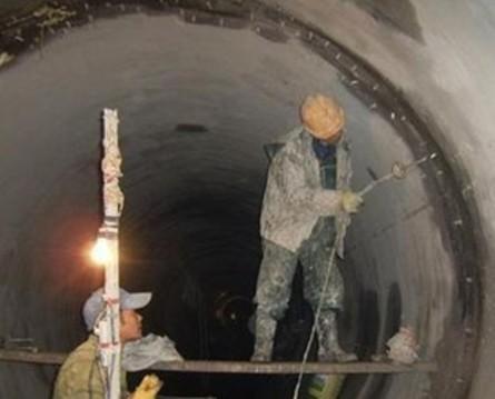 电缆隧道补漏