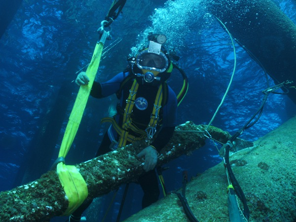 水下物品打捞
