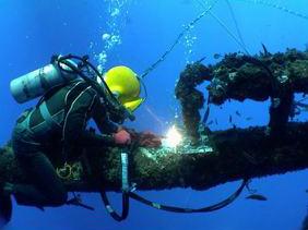 水下工程作业