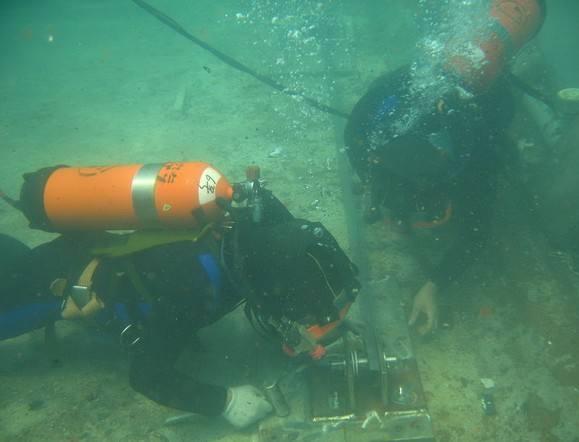 水下工程拆除