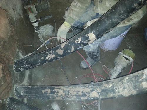 电缆沟堵漏补漏施工