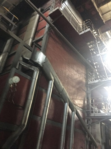 电厂锅炉拆除