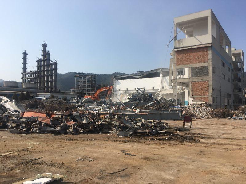 化工厂厂房拆除