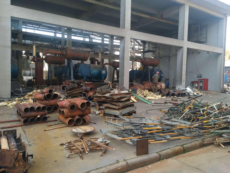 化工厂设备拆除
