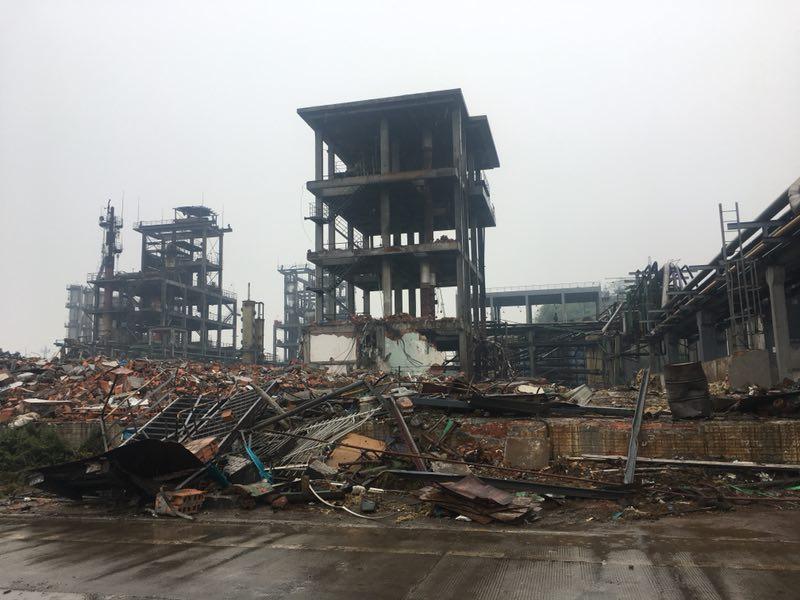 专业化工厂拆除