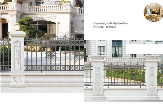 成都铝艺栏杆安装